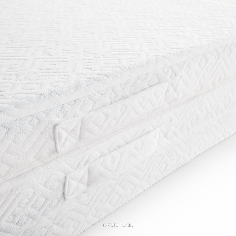 """Lucid 3"""" Folding Memory Foam Floor Mattress Twin Walmart"""