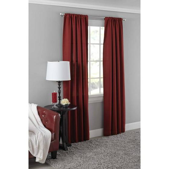 Mainstays Diamond Room Darkening Therma Panel Curtain