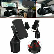 Weather- Universal Cup Cup Holder Car Mount for Cell Phone Adjustable -Tech