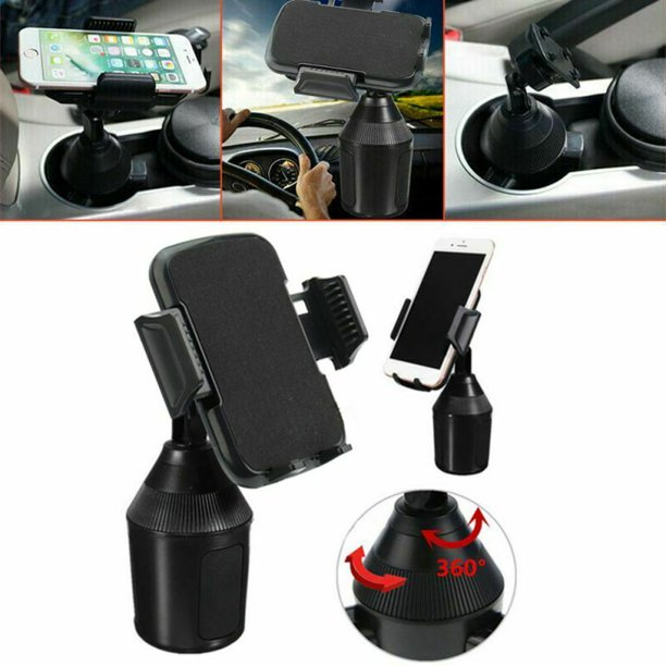 Weather Universal Cup Cup Holder Car Mount For Cell Phone Adjustable Tech Walmart Com Walmart Com