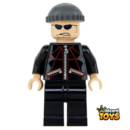 LEGO Marvel Super Heroes Spider-Man: Jewel Thief 2, Black Torso - Jewel Superhero