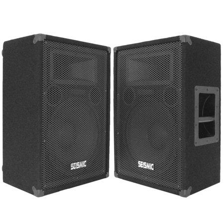Seismic audio 2 12 floor monitors stage dj speakers for 12 floor speaker