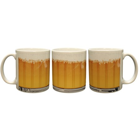 - Beer Mug Sublimation (Wrap Around Artwork) Funny Novelty Coffee Mug