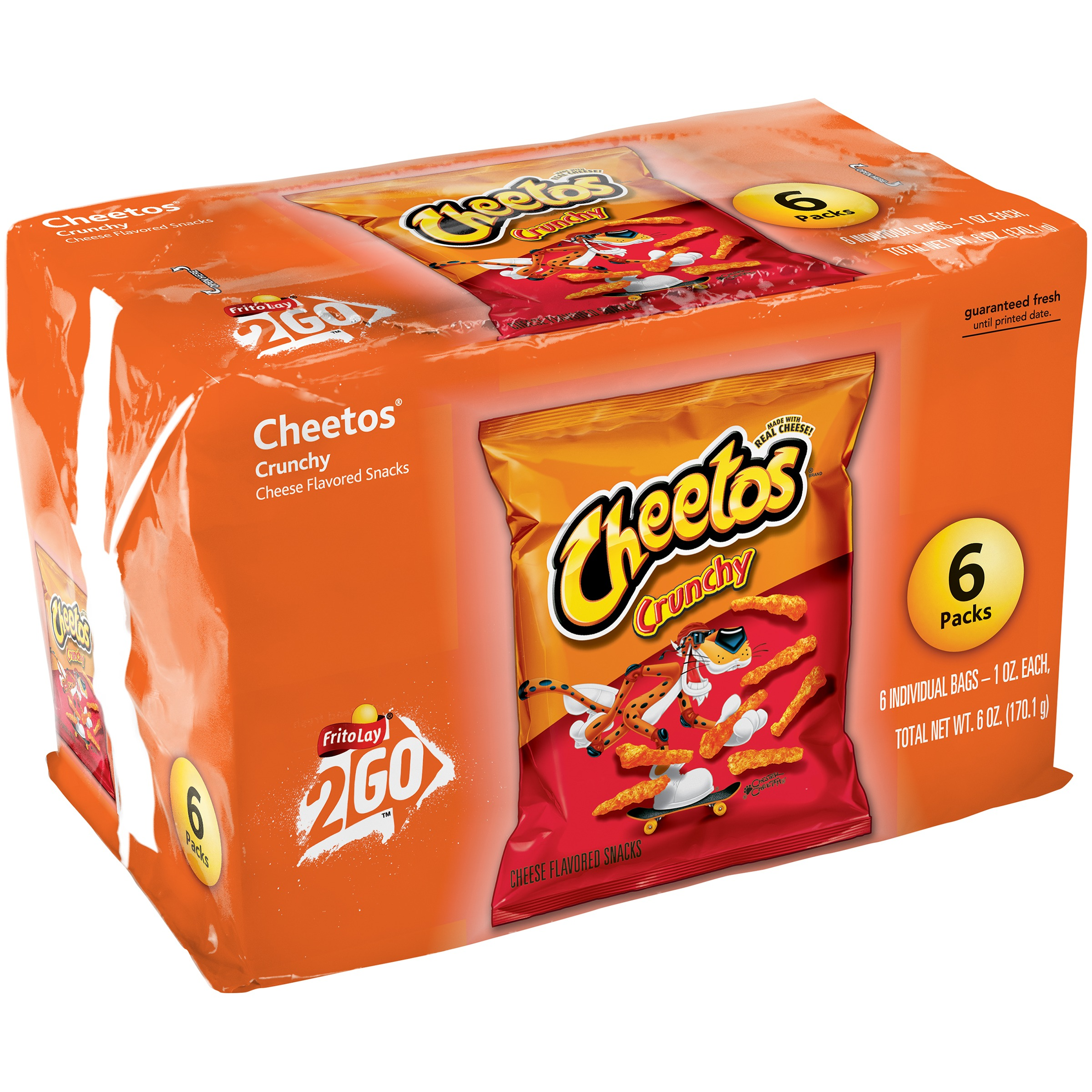 Cheetos Crunchy Cheese Flavored Snacks 6-1 oz. Bags