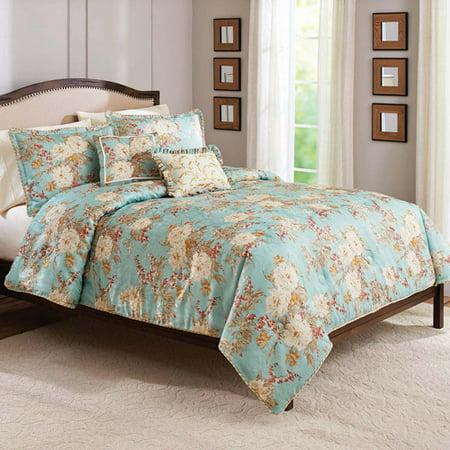 Better homes and gardens heirloom garden 5 piece comforter set for Better homes and gardens quilt sets