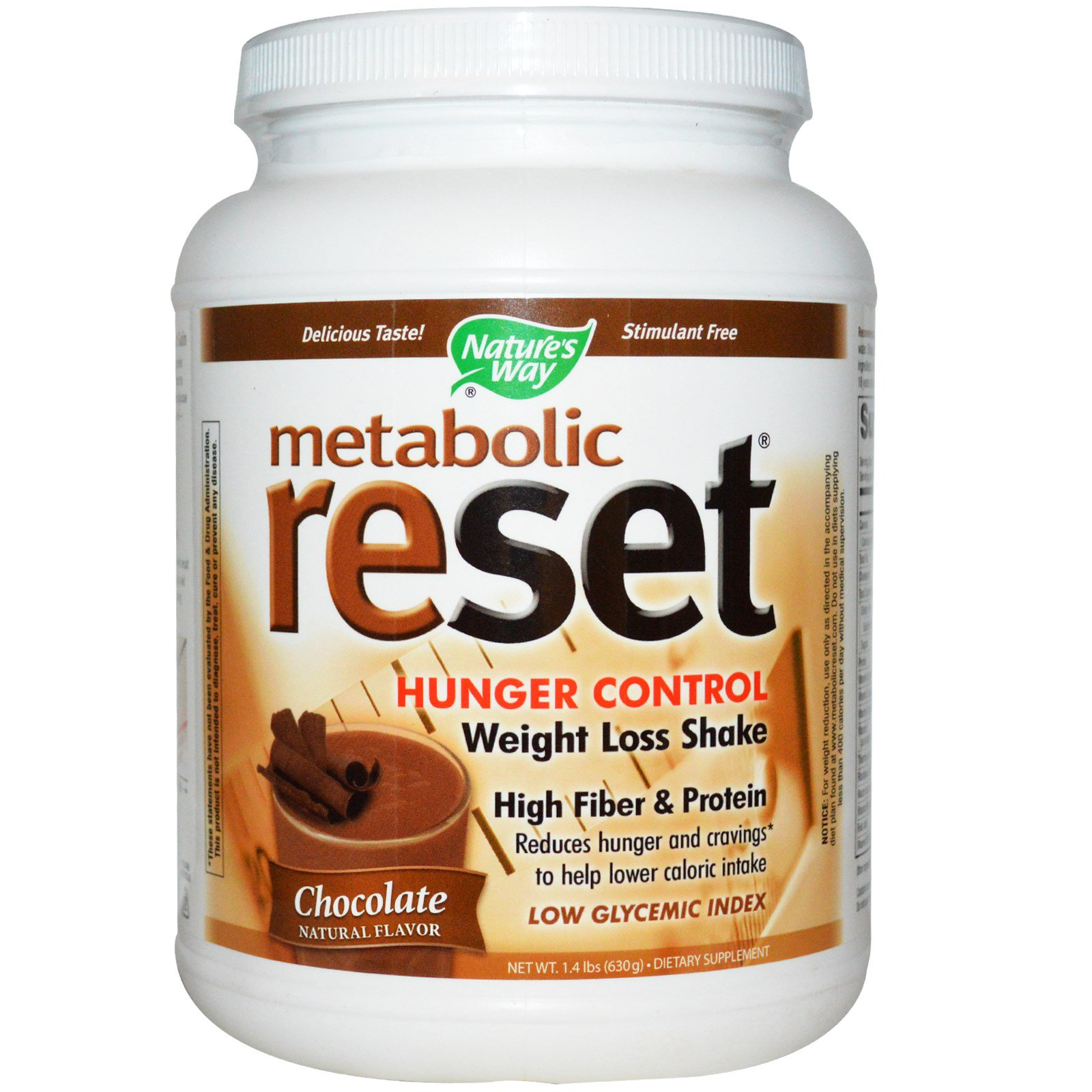 Nature's Way, Metabolic Reset Hunger Control Weight Loss ...