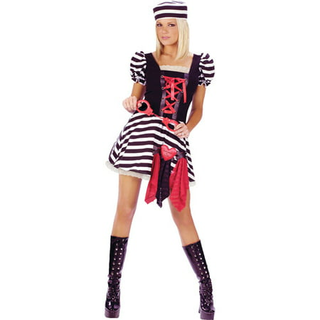 Prisoner Of Love Adult Halloween Costume - Prisoner Of Love Costume Halloween