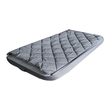 Quilted Mattress Covers - Tahoe Gear Twin Size Mattress Bed Kit with Quilted Fitted Sheet Cover & Blanket
