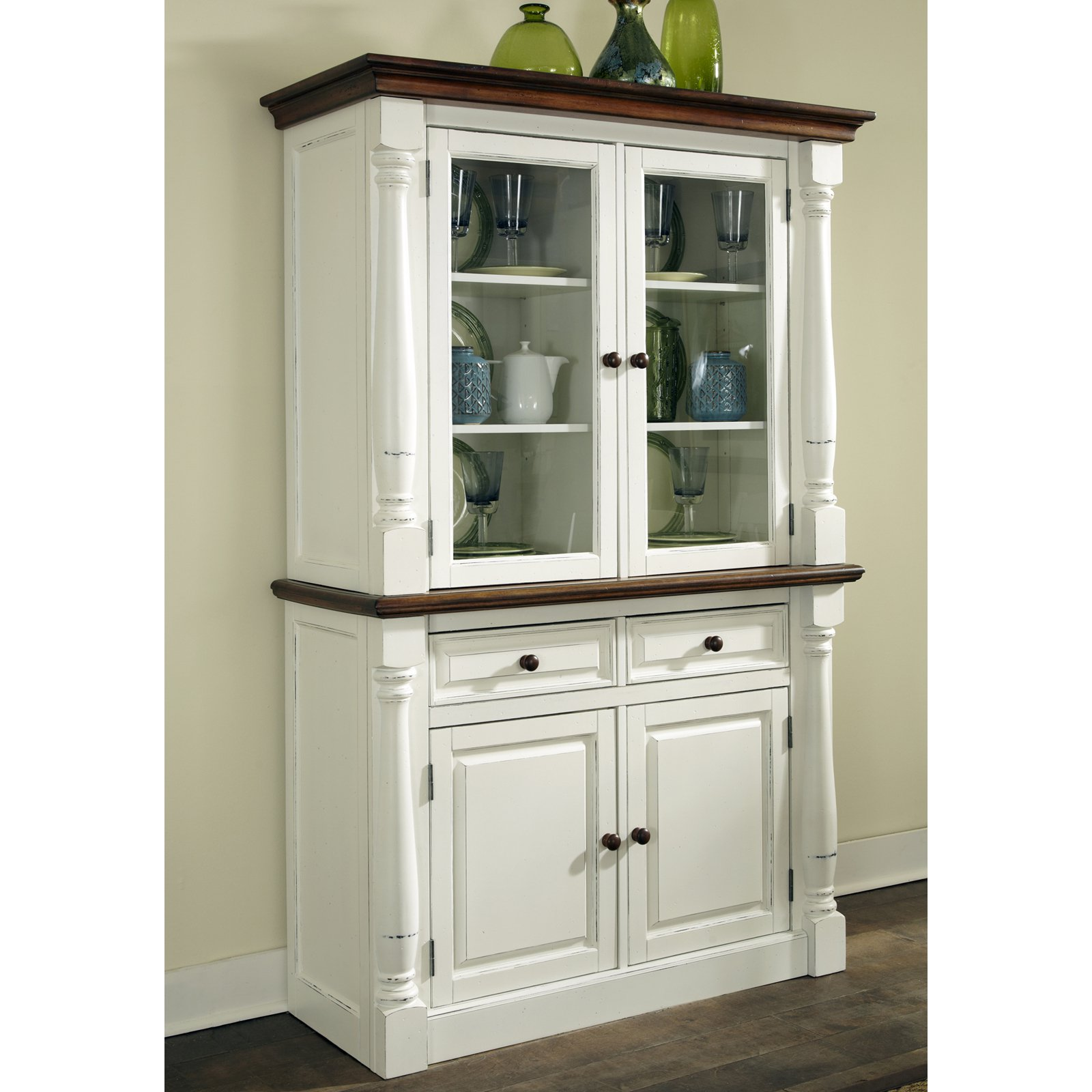 Delicieux Home Styles Monarch China Cabinet   White U0026amp; ...