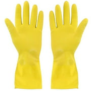 Household Dish-Washing Latex Waterproof Housework Rubber Gloves