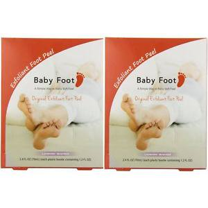 - Baby Foot Lavender Easy Pack Exfoliant Foot Peel - Pack of 2