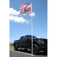 Flagpole-To-Go Ultimate Tailgaters Package with 18' Portable Flagpole