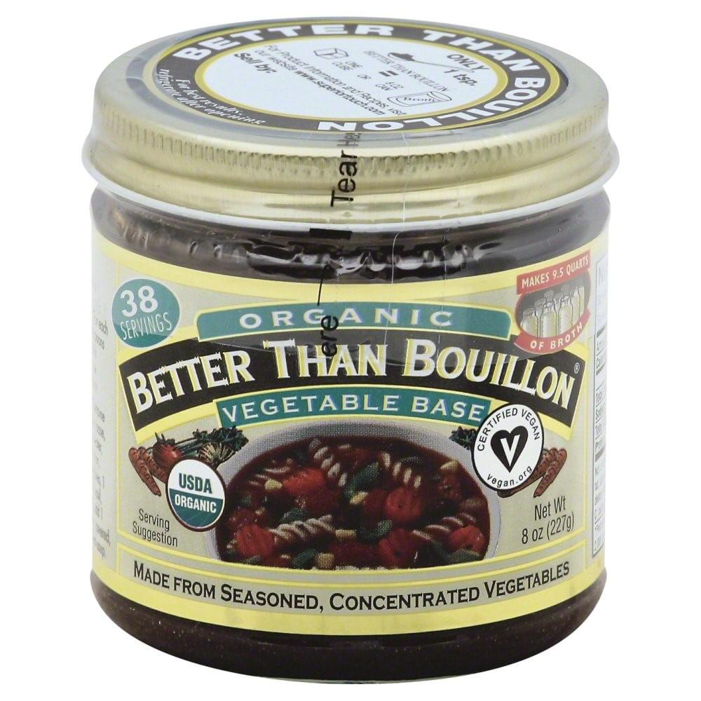 Better than Bouillon-Vegetable Base Organic, 8 Ounce