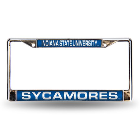 Indiana State Sycamores Official NCAA Metal License Plate Frame by Rico 678906