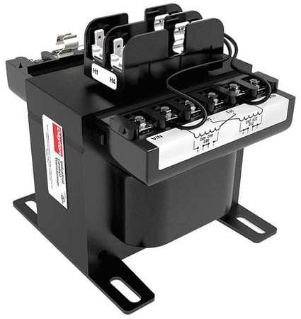 Dayton 31EH08 Control Transformer Fused, 7.18Hx6.75W In