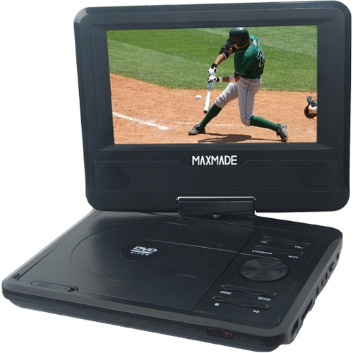 "Envizen Portable DVD Player with Slim 7"" LCD TFT Display"