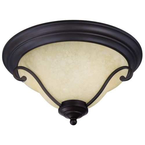 Westinghouse Lighting Callan 2-Light Flush Mount
