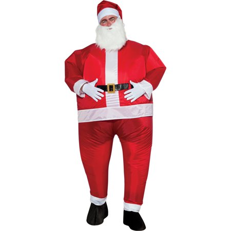Mens Inflatable Santa Costume](Cheap Inflatable Suits)