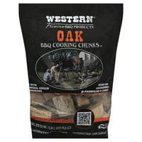Western Premium BBQ Post Oak Smoking Chunks