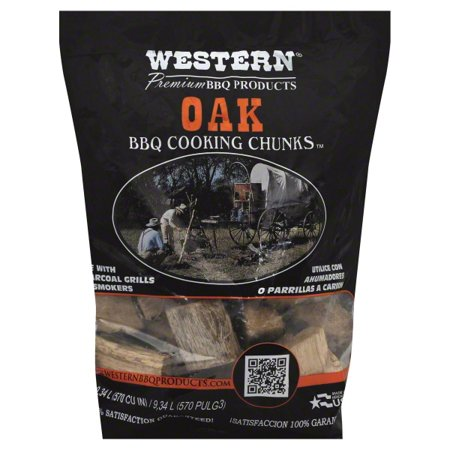 Western Premium BBQ Post Oak Smoking Chunks (Chunk Deck)