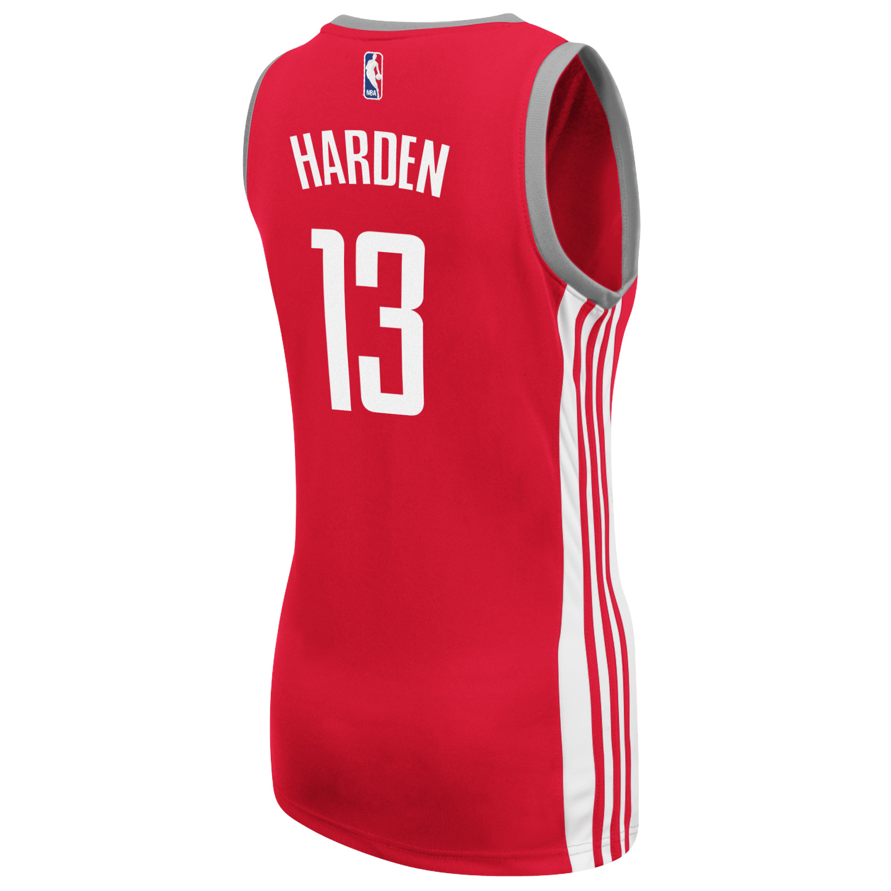 James Harden Houston Rockets Adidas Womens Player Jersey (Red)
