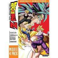 DRAGON BALL Z-MOVIE PACK #2-MOVIES 6-9 (DVD) (4DISCS) (DVD)