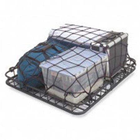 Universal Cargo Net, Rugged Ridge, Roof Rack Stretch (Roof Rack Cargo Netting)
