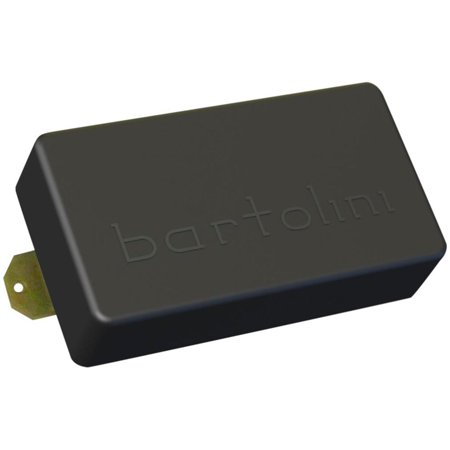 Bartolini BRPPBF-77 PAF Rock Humbucker Dual Coil Bridge 6-String Guitar Pickup Black Humbucker Double Coil