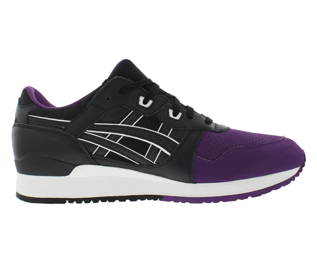 sports shoes 5b18e 61dcf ASICS - Men Asics Gel Lyte III 3 50 50 Pack Purple Black H5V0L-3390 -  Walmart.com
