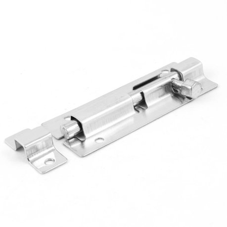 Unique Bargains Silver Tone Homely Interior Door Security Lock 3