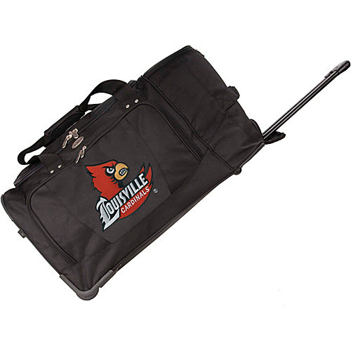 "Sports Bags by Mojolicensing NCAA 27"" Rolling Drop Bottom Duffel"