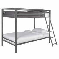 Mainstays Premium Metal Twin Bunk Bed