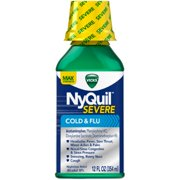Vicks NyQuil Severe Cold & Flu Nighttime Relief Liquid