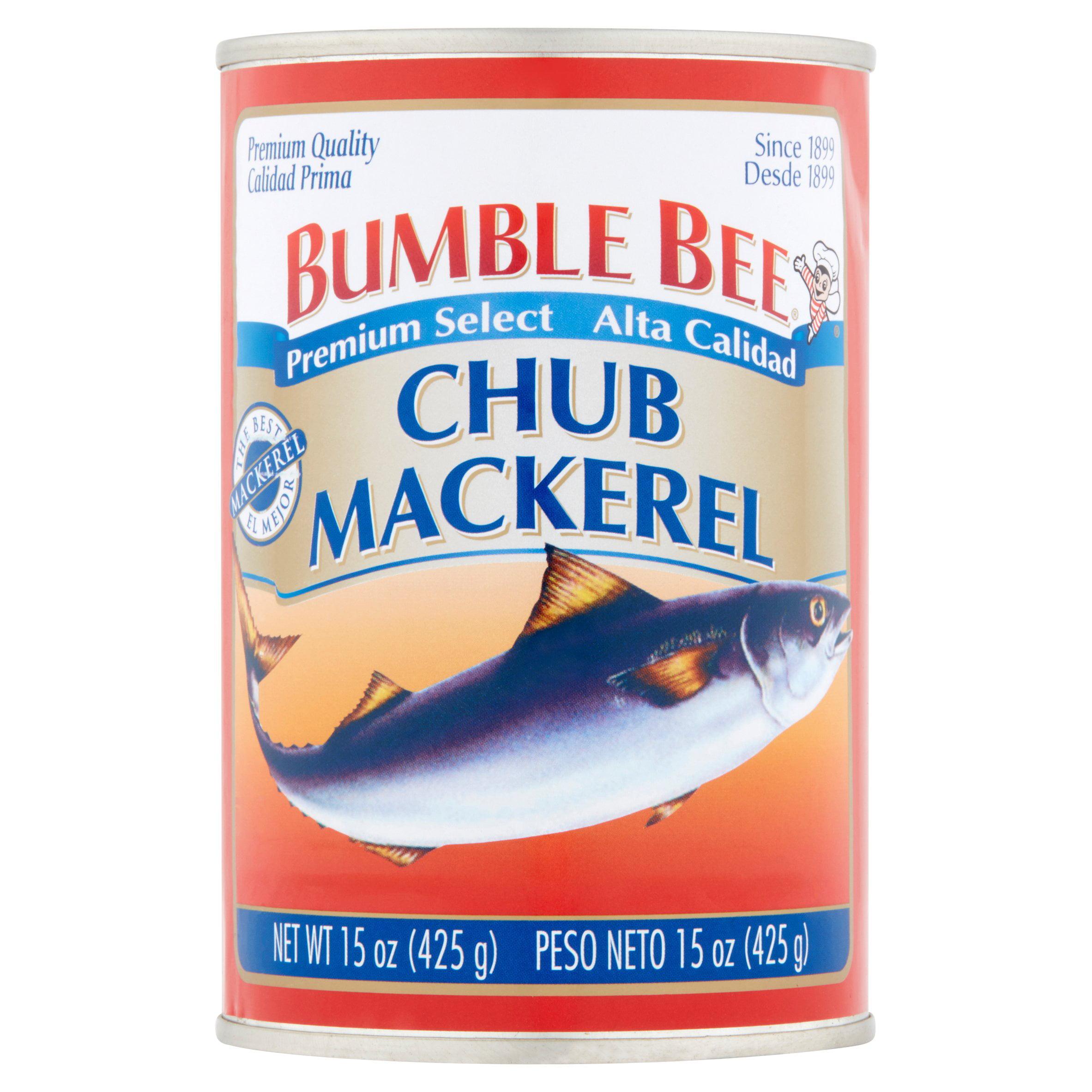 Bumble Bee Chub Mackerel, 15 oz by Bumble Bee Seafoods