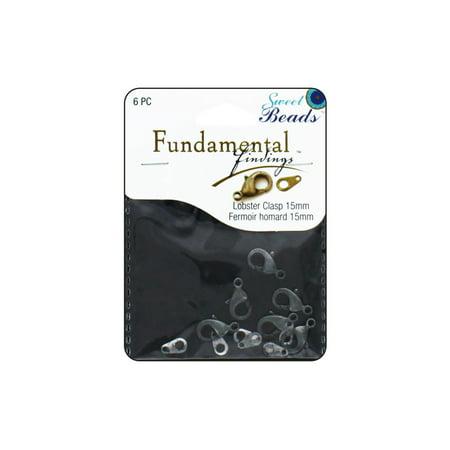 Sweet Beads Fund Find Lobster Clasp 15Mm6pcantslvr - image 1 de 1
