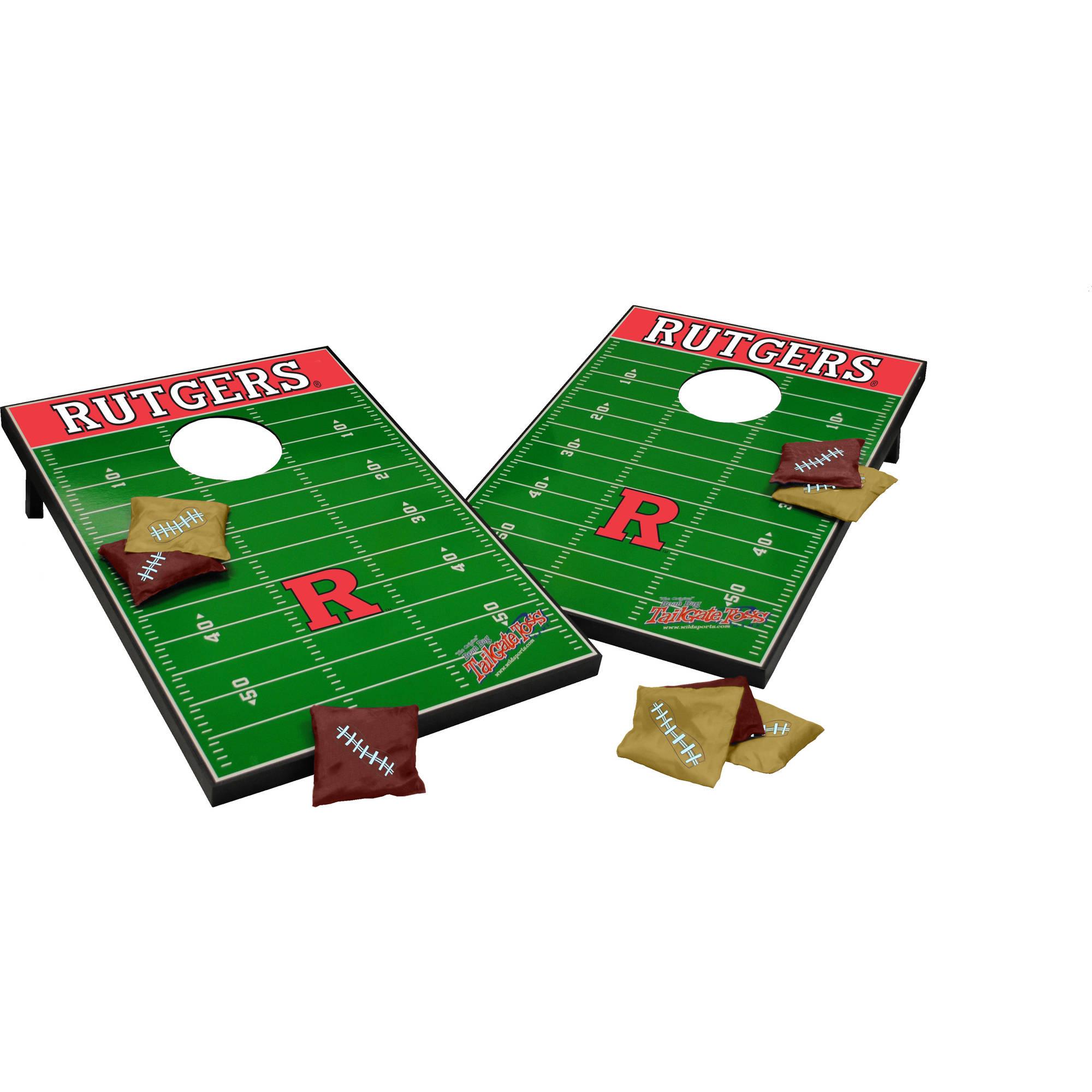 Wild Sports Collegiate Rutgers 2x3 Field Tailgate Toss