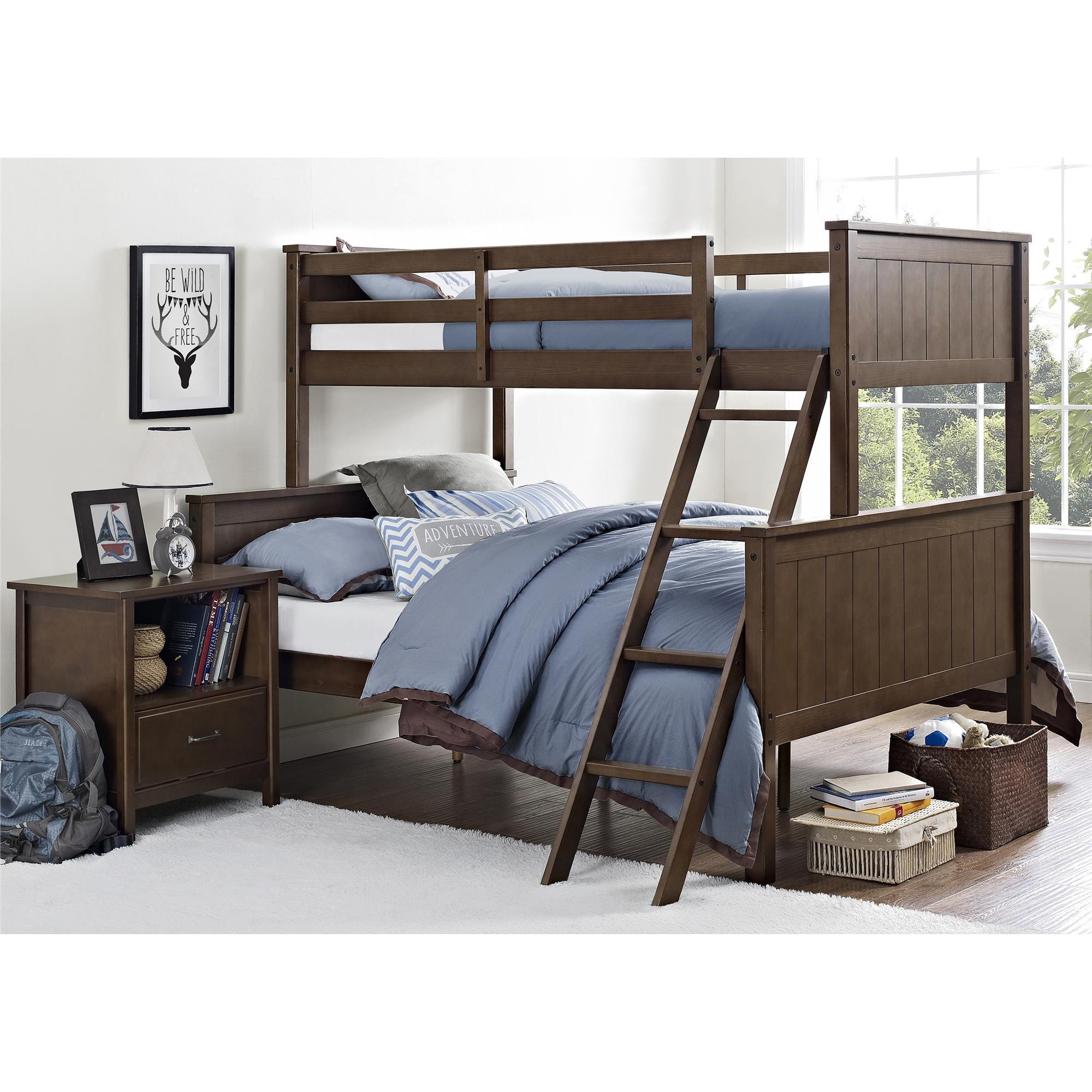 Better Homes and Gardens Ashcreek Twin/Full Bunk Bed