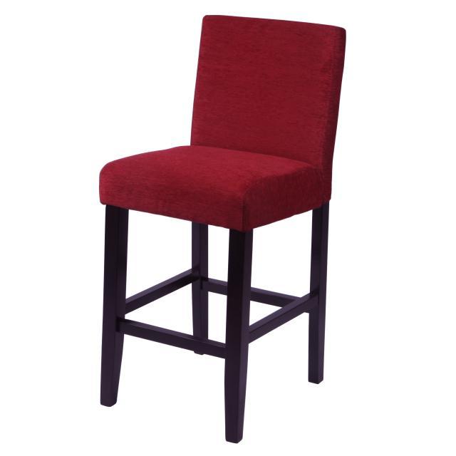 Aprilia Dark Red Counter Chairs (Set of 2)