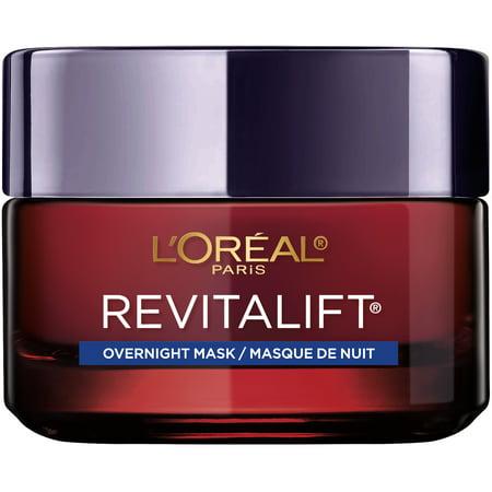 L'Oreal Paris Revitalift Triple Power Intensive Anti-Aging Night Face Mask, 1.7 oz. Dreaded One Mask