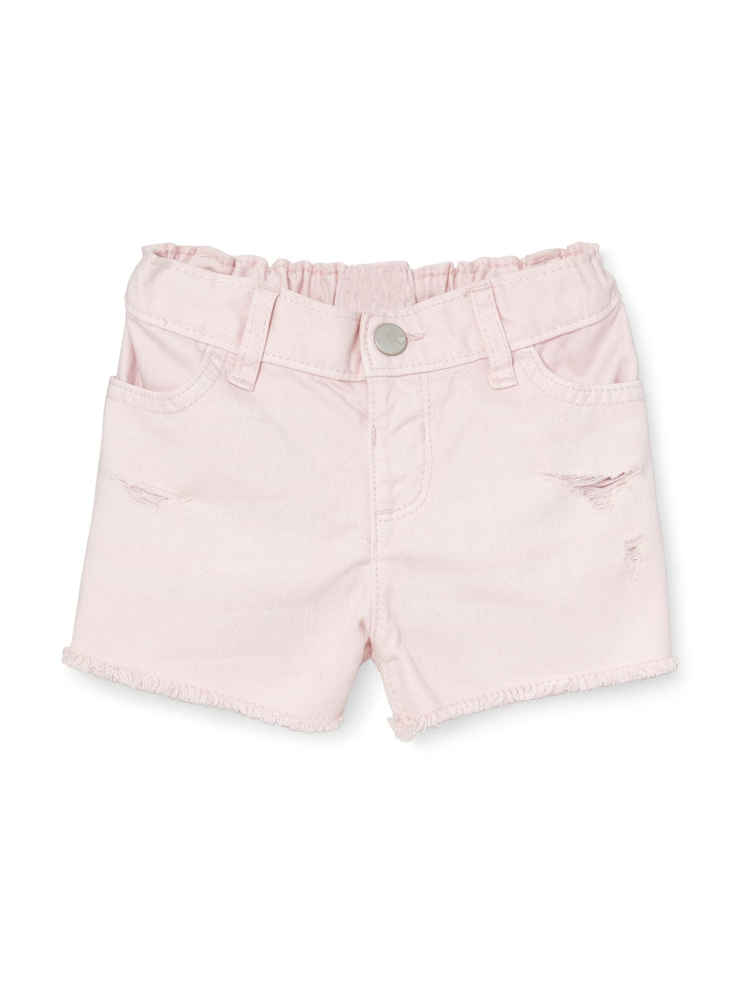 Destructed Denim Shorts (Baby Girls & Toddler Girls)