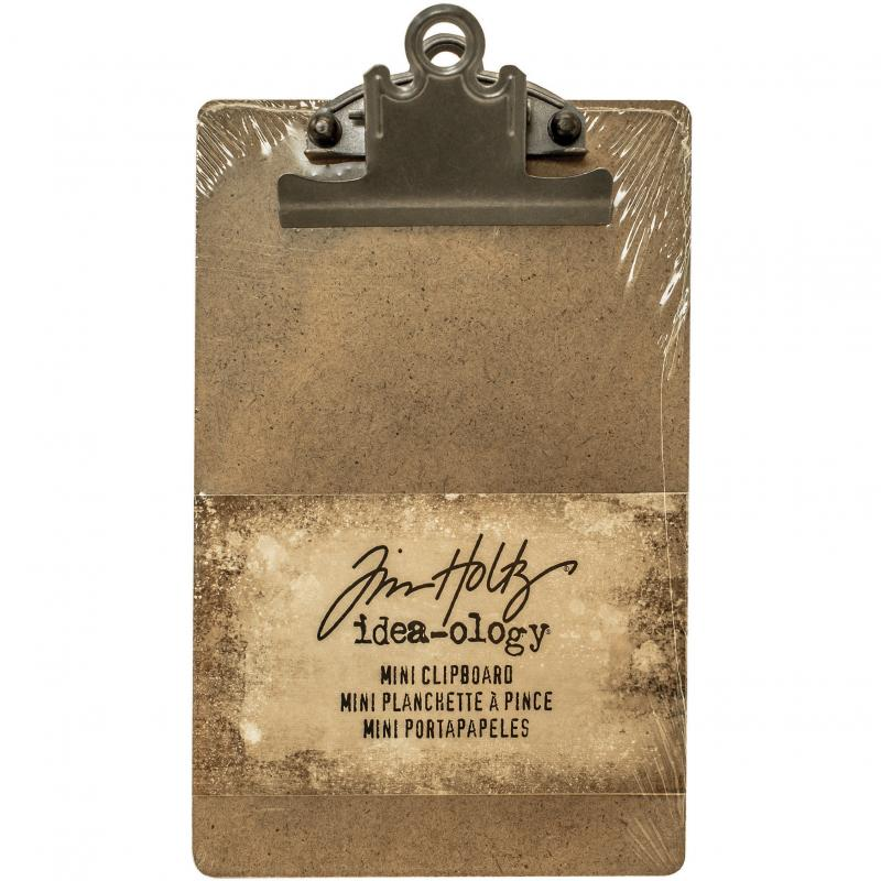 "Idea-Ology Mini Clipboard 4.5""X7.75""-Brown TH93278"