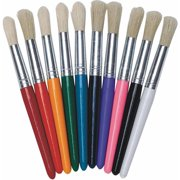 Assorted Stubby Brushes, Pack of 10