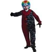 Deals on Creepo The Clown Adult Halloween Costume - One Size