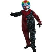 Walmart.com deals on Creepo The Clown Adult Halloween Costume - One Size