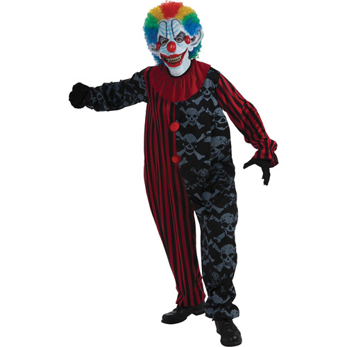 Creepo The Clown Adult Halloween Costume - One Size