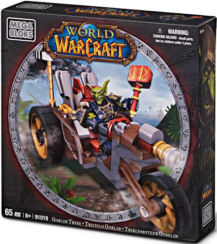 World of Warcraft Goblin Trike Set Mega Bloks 91019