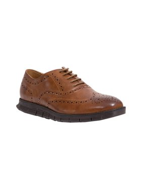 Deer Stags Men's Benton Wing Tip Oxford Dress Shoes (Wide Available)