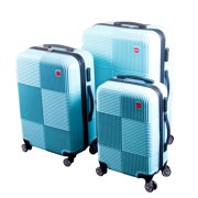 Best Suitcases - BIGLAND 3 Pcs ABS Luggage Set Hard Suitcase Review