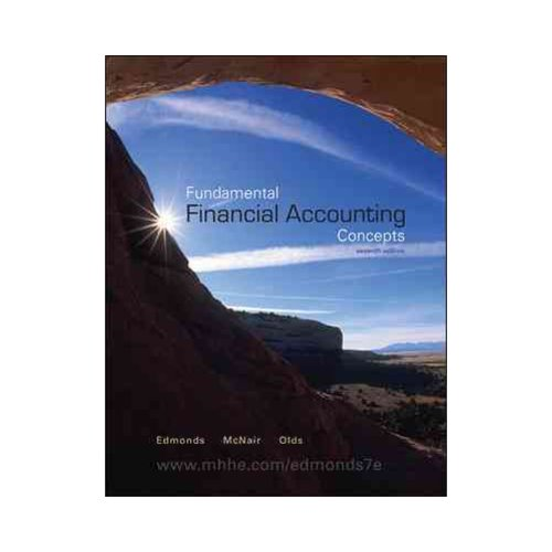 fundamental financial accounting concepts This introductory course teaches the fundamental concepts of financial  accounting in a management context, by following the story of a small retail  franchise.