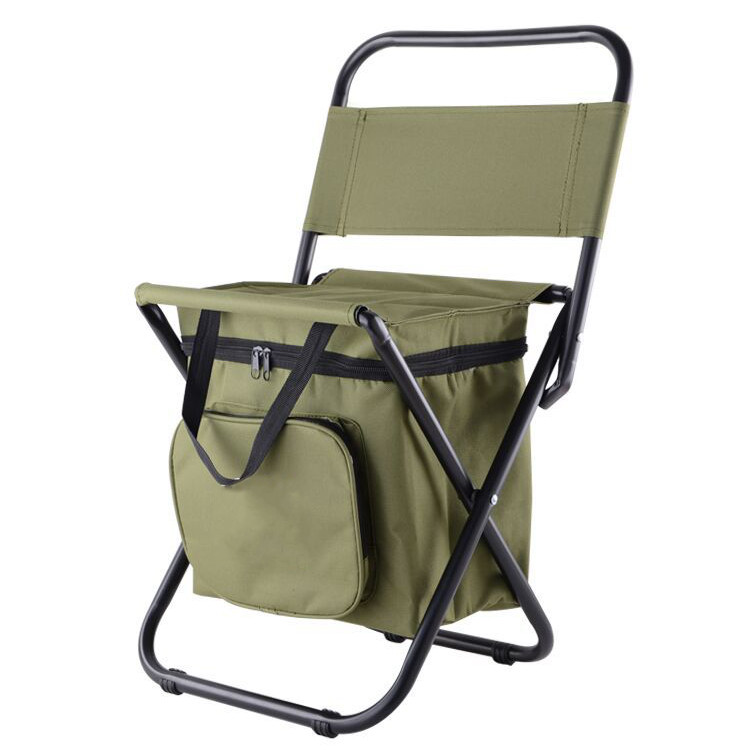 Meigar 3 in 1 Backpack Cooler Chair - Travel Backpack Folding Stool Chair -